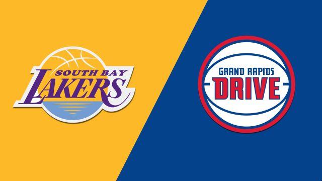 South Bay Lakers vs. Grand Rapids Drive