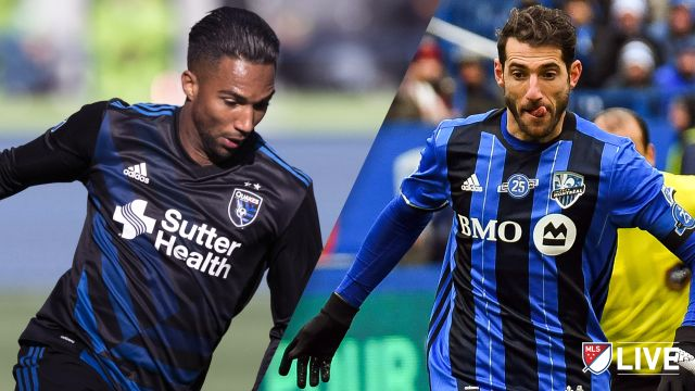 San Jose Earthquakes vs. Montreal Impact