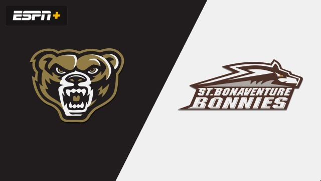Oakland vs. St. Bonaventure (W Basketball)