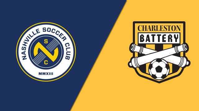 Nashville SC vs. Charleston Battery