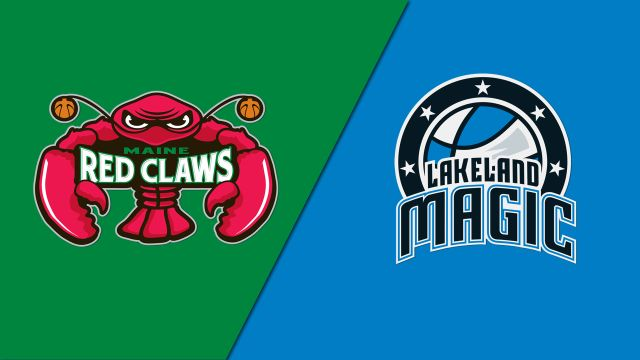 Maine Red Claws vs. Lakeland Magic