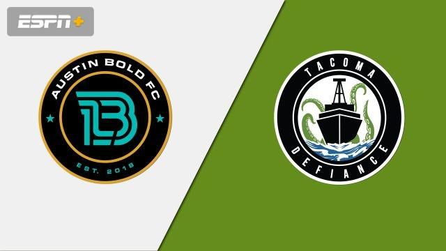 Austin Bold FC vs. Tacoma Defiance (USL Championship)