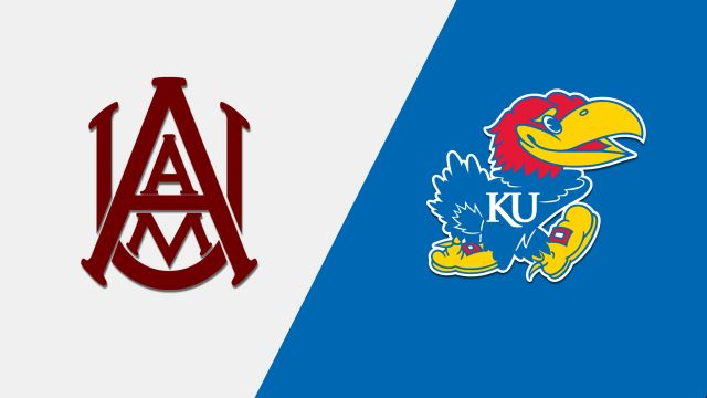 Alabama A&M vs. Kansas (W Basketball)
