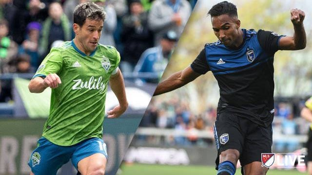 Seattle Sounders FC vs. San Jose Earthquakes
