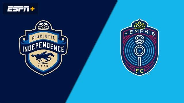 Charlotte Independence vs. Memphis 901 FC (USL Championship)