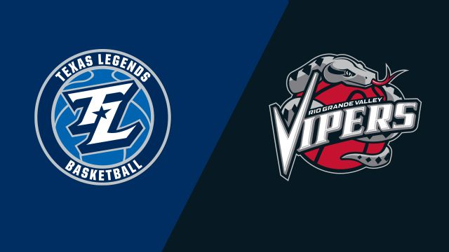 Texas Legends vs. Rio Grande Valley Vipers
