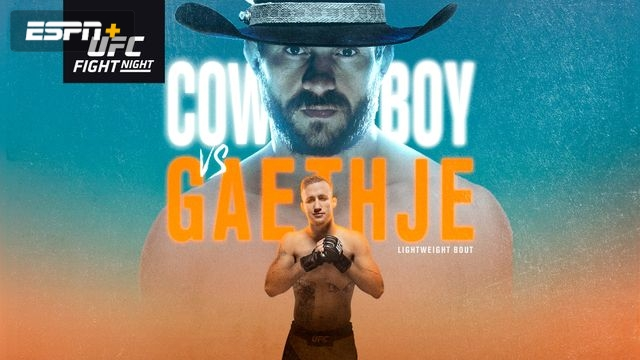 UFC Fight Night: Cowboy vs. Gaethje (Main Card)