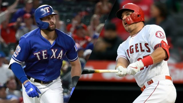 Texas Rangers vs. Los Angeles Angels