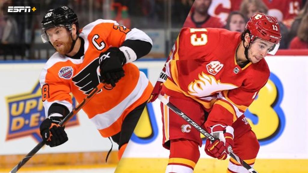 Philadelphia Flyers vs. Calgary Flames