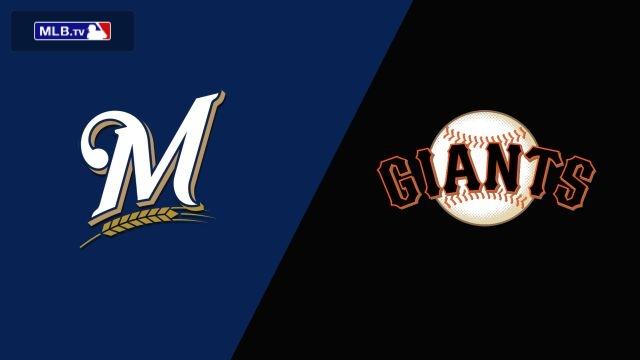 Milwaukee Brewers vs. San Francisco Giants