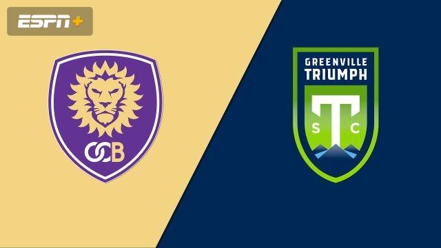Orlando City B vs. Greenville Triumph SC (USL League One)