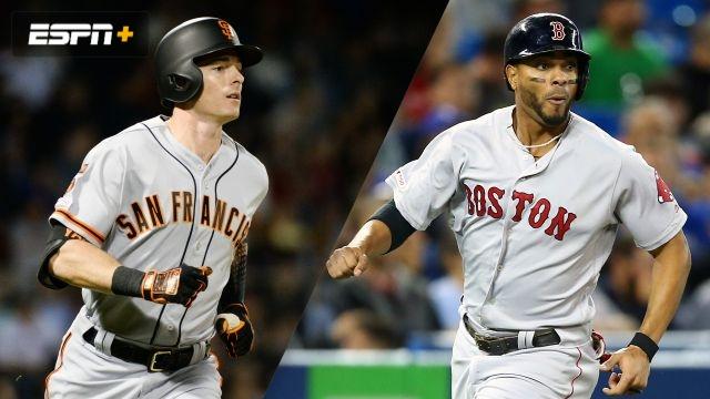 San Francisco Giants vs. Boston Red Sox