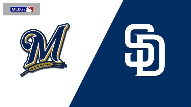 Milwaukee Brewers vs. San Diego Padres