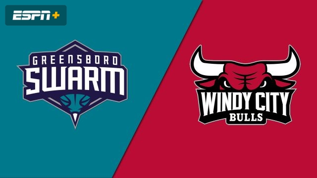 Greensboro Swarm vs. Windy City Bulls