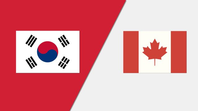 Korea vs. Canada (Group Phase)