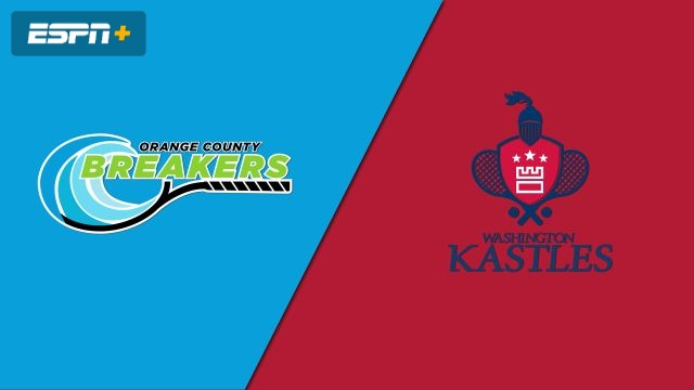 Orange County Breakers vs. Washington Kastles
