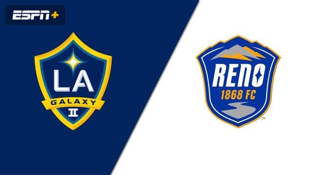 LA Galaxy II vs  Reno 1868 FC (USL Championship) - WatchESPN