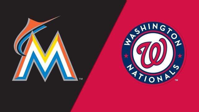 Miami Marlins vs. Washington Nationals