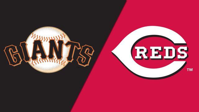 San Francisco Giants vs. Cincinnati Reds