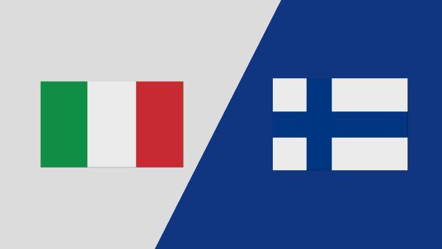 Italy vs. Finland (2018 FIL World Lacrosse Championships)