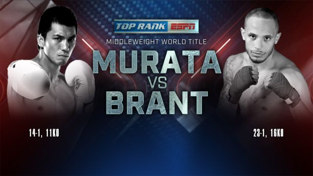 Top Rank Boxing on ESPN: Murata vs. Brant Weigh-In