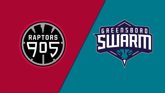 Raptors 905 vs. Greensboro Swarm