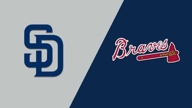 San Diego Padres vs. Atlanta Braves
