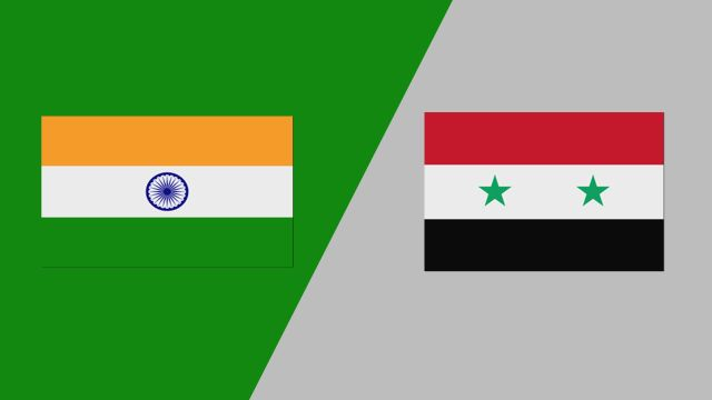 India vs. Syria (FIBA World Cup 2019 Qualifier)