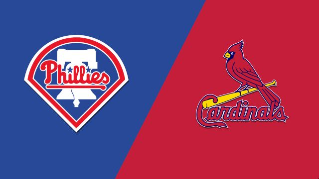 Philadelphia Phillies vs. St. Louis Cardinals