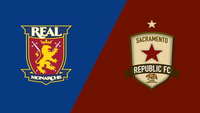 Real Monarchs SLC vs. Sacramento Republic FC