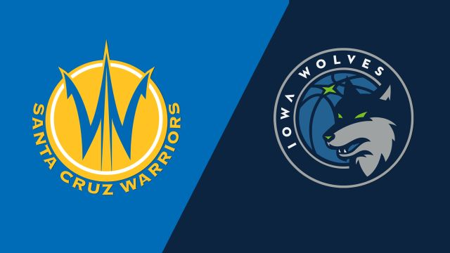 Santa Cruz Warriors vs. Iowa Wolves