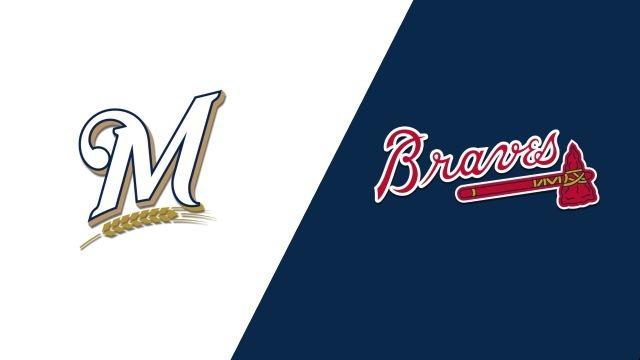 Milwaukee Brewers vs. Atlanta Braves
