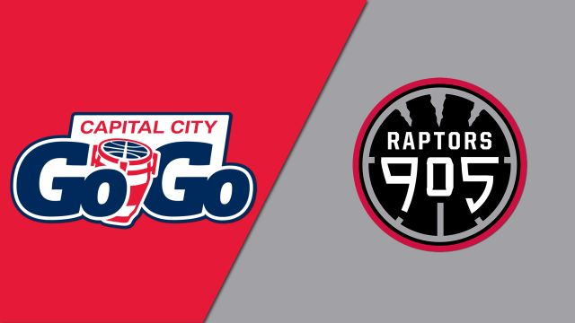 Capital City Go-Go vs. Raptors 905