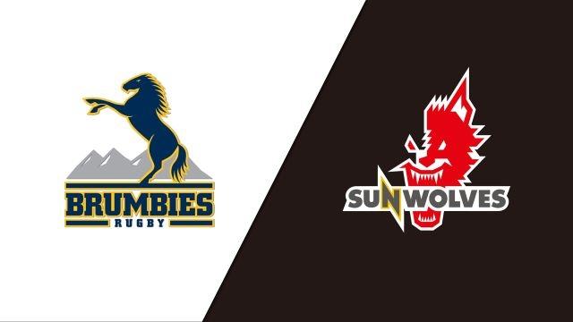 Brumbies vs. Sunwolves