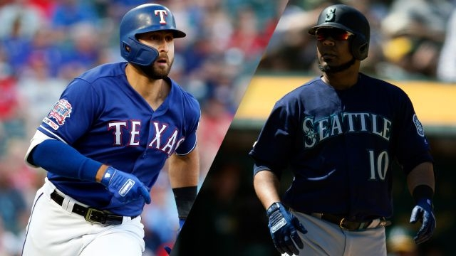 Texas Rangers vs. Seattle Mariners