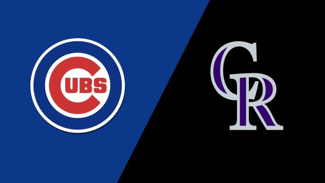 Chicago Cubs vs. Colorado Rockies