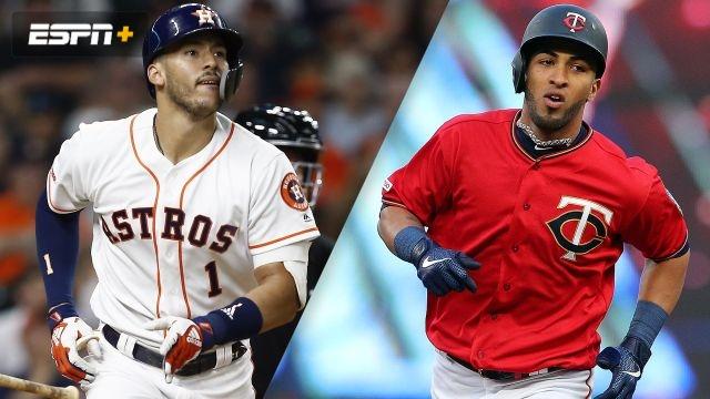 23b9ee21f3e Houston Astros vs. Minnesota Twins