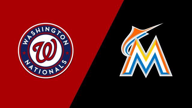 Washington Nationals vs. Miami Marlins