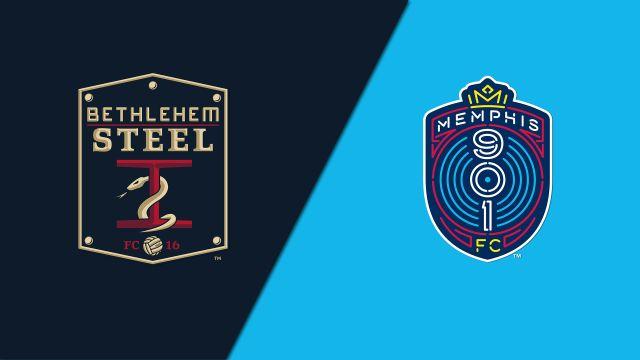 Bethlehem Steel FC vs. Memphis 901 FC (United Soccer League)