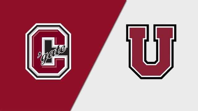 #9 Colgate vs. Union (W Hockey)