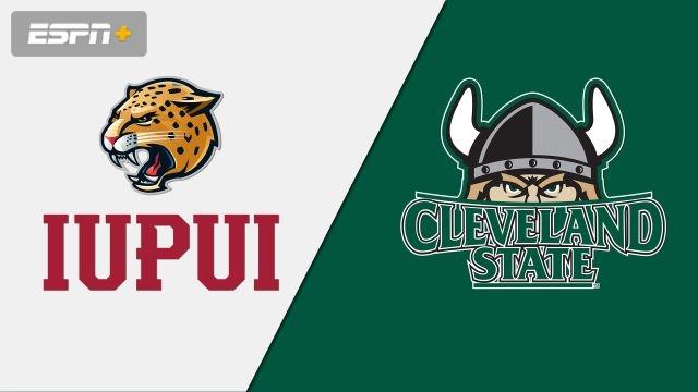 IUPUI vs. Cleveland State (M Basketball)