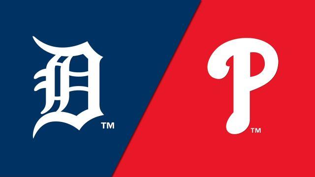 Detroit Tigers vs. Philadelphia Phillies