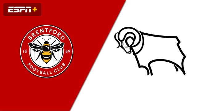 Brentford vs. Derby County (English League Championship)