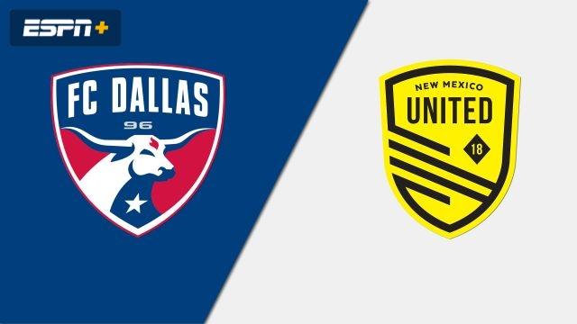 FC Dallas vs. New Mexico United (Round of 16) (U.S. Open Cup)