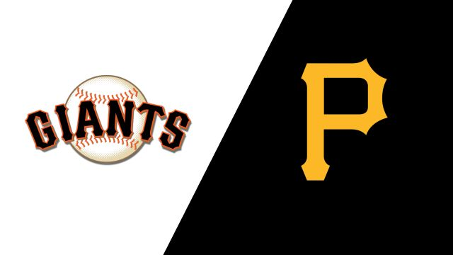 San Francisco Giants vs. Pittsburgh Pirates