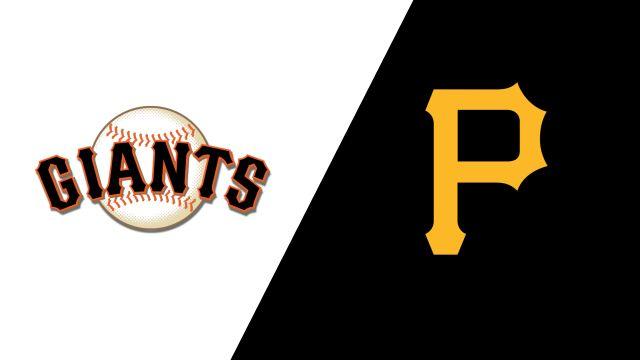 San Francisco Giants vs. Pittsburgh Pirates