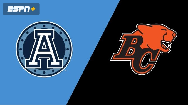 Toronto Argonauts vs. BC Lions (Canadian Football League)