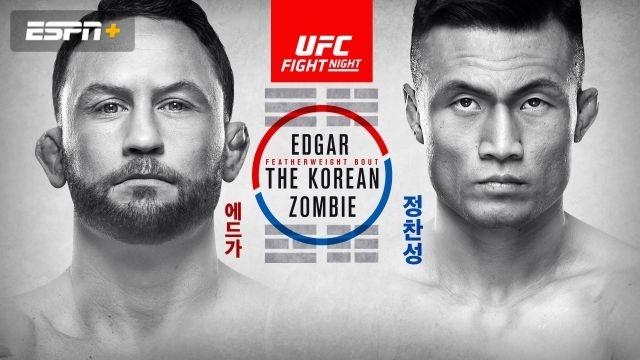 UFC Fight Night: Edgar vs. The Korean Zombie