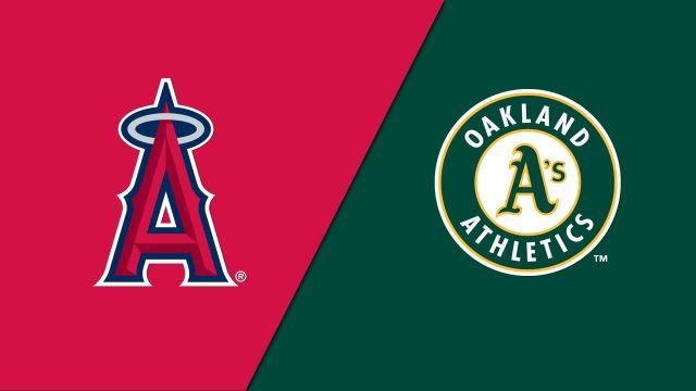 Los Angeles Angels vs. Oakland Athletics