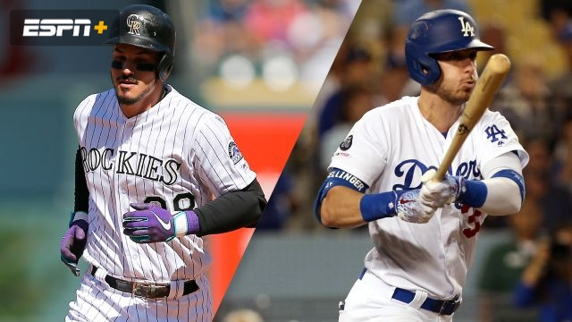 Colorado Rockies vs. Los Angeles Dodgers